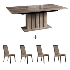 Alf Matera Dining Table and 4 Chairs