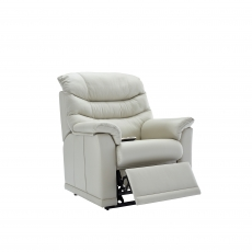 G Plan Malvern Elevate Dual Motor Standard Recliner Chair In Leather