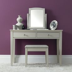 Cookes Collection Ashley Cotton Vanity Mirror