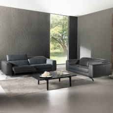 Natuzzi Editions Pensiero Large Electric Recliner Sofa