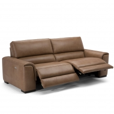 Natuzzi Editions Ozio Large Electric Recliner Sofa