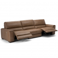 Natuzzi Editions Large Electric Recliner Sofa
