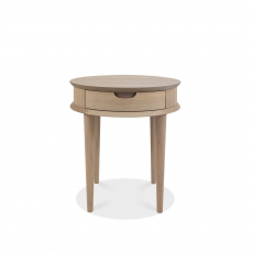 Cookes Collection Fino Scandi Oak Lamp Table