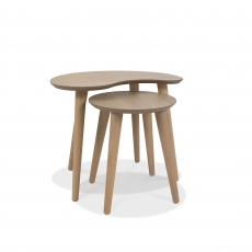 Cookes Collection Fino Scandi Oak Nest of Tables