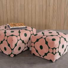 Orla Kiely Longford Large Footstool