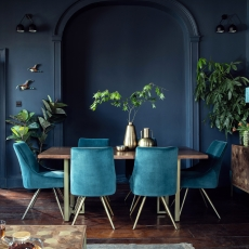 Mario Dining Table and 6 Chairs