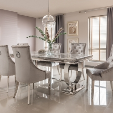 Valentina Dining Table and 6 Chairs