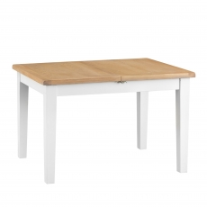 Cookes Collection Thames White Medium Extending Dining Table