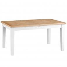 Cookes Collection Thames White Large Extending Dining Table