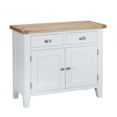 Cookes Collection Thames White 2 Door Sideboard