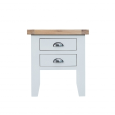 Cookes Collection Thames White Lamp Table