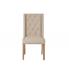 Cookes Collection Madeira Dining Chair Beige