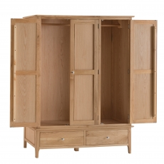 Cookes Collection Blackburn 3 Door Wardrobe