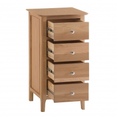Cookes Collection Blackburn 4 Drawer Narrow Chest