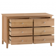 Cookes Collection Blackburn 6 Drawer Chest