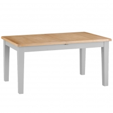 Cookes Collection Thames Grey Large Butterfly Extending Dining Table