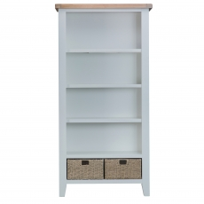 Cookes Collection Thames Grey Large Bookcase