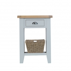 Cookes Collection Thames Grey Telephone Table