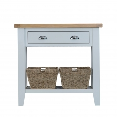 Cookes Collection Thames Grey Small Console Table