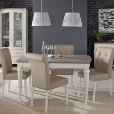 Cookes Collection Geneva Dining Table and 4 Chairs