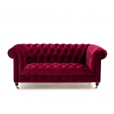 Dawson 2 Seater Sofa Berry