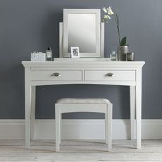 Cookes Collection Camden White Vanity Mirror