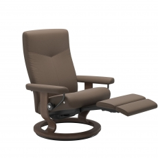 Stressless Dover Medium Classic Chair with Electric LegComfort