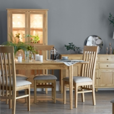 Cookes Collection Blackburn Dining Table and 4 Chairs