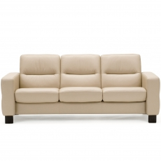 Stressless Wave Low Back 3 Seater Sofa