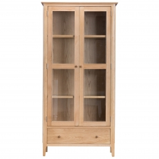 Cookes Collection Blackburn Display Cabinet with Lights