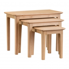 Cookes Collection Blackburn Nest of 3 Tables