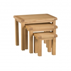 Cookes Collection Colchester Nest of 3 Tables