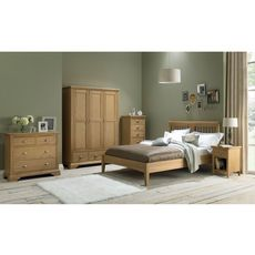 Cookes Collection Camden Oak Triple Wardrobe