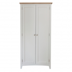 Cookes Collection Palma 2 Door Full Hanging Wardrobe