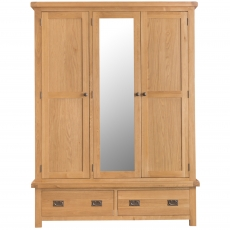 Cookes Collection Colchester 3 Door Wardrobe