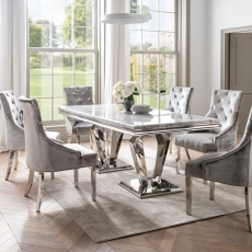 Cookes Collection Abigail Table and 6 Chairs