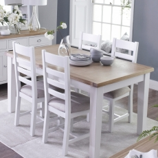 Cookes Collection Thames Extending Dining Table & 4 Chairs