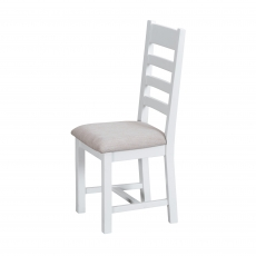 Cookes Coolection Thames White Ladder Back Dining Chair