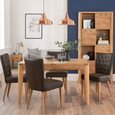 Cookes Collection Montreal Dining Table & 4 Chairs