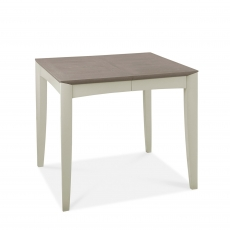 Cookes Collection Romy Soft Grey Small Extending Dining Table