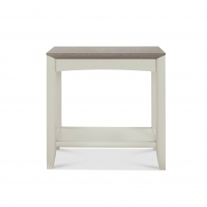 Cookes Collection Romy Soft Grey Side Table