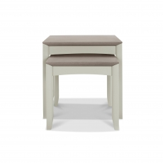 Cookes Collection Romy Soft Grey Nest of Tables