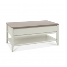 Cookes Collection Romy Soft Grey Coffee Table
