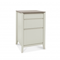 Cookes Collection Romy Soft Grey Filing Cabinet