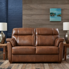 Cookes Collection Lepus Leather 2 Seater Sofa
