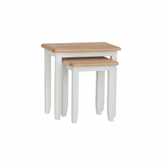 Cookes Collection Palma Nest of 2 Tables