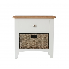 Cookes Collection Palma 1 Drawer Basket Unit
