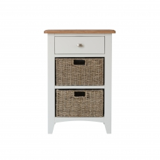 Cookes Collection Palma 1 Drawer 2 Basket Unit