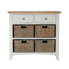 Cookes Collection Palma 2 Drawer 4 Basket Unit
