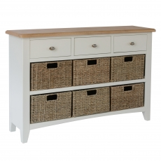 Cookes Collection Palma 3 Drawer 6 Basket Unit